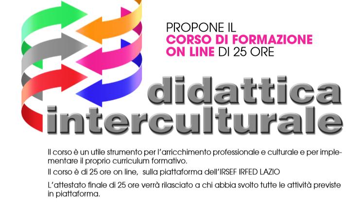 """CORSO ON LINE """"Didattica Interculturale"""""""